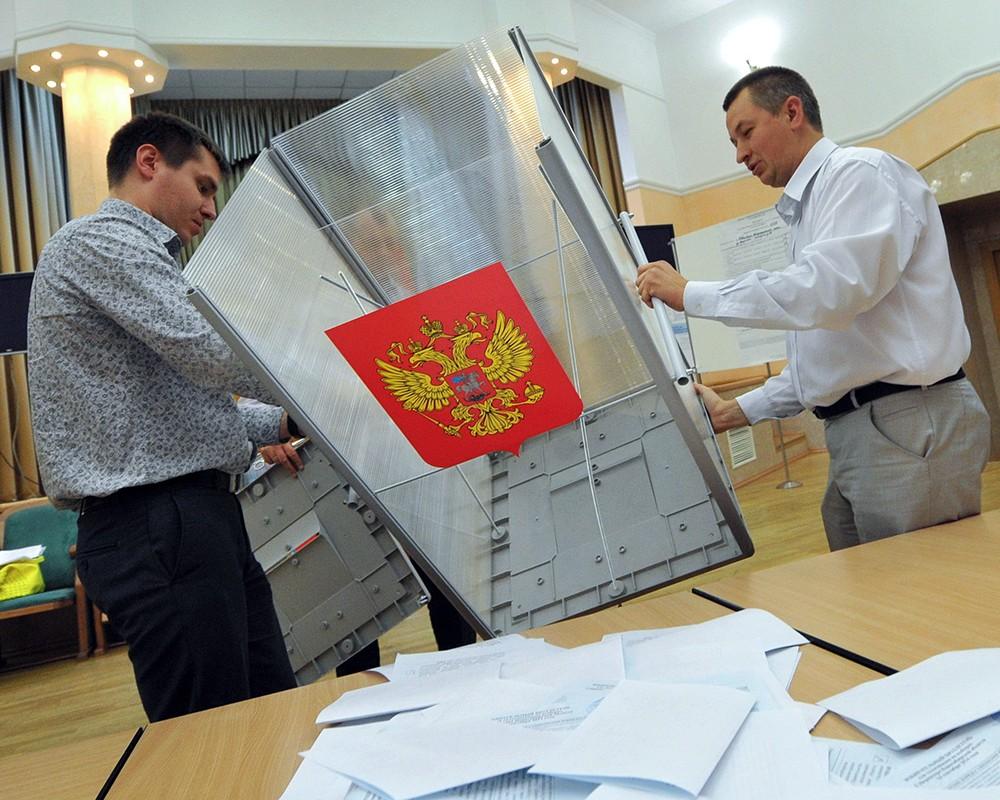ЦИК обработал 100% бюллетеней и огласил предварительный результат голосования