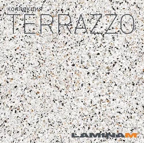 Новинка в Masterproff.ru Laminamrus Terrazzo 1000х3000х5,6 мм