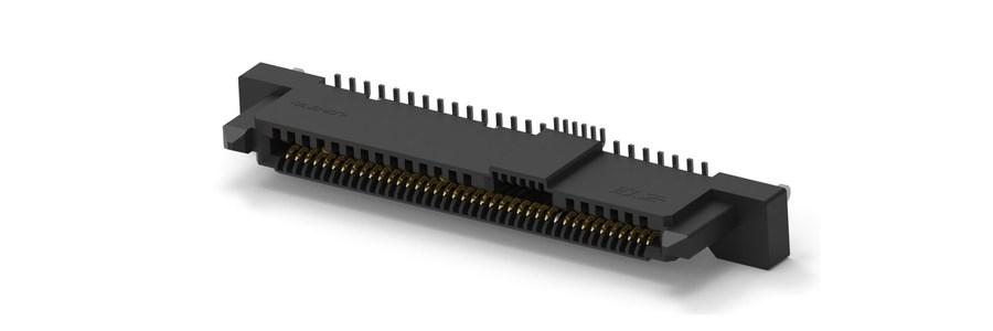 «Умные» 68-штыревые соединители для SAS/PCIe 4-го поколения представила TE Connectivity