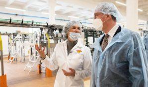 Первого в РФ цифрового двойника пищевого производства запустили в Калужской области